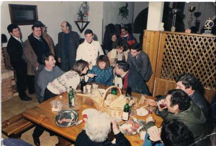 Foto dell'Inaugurazione dell'agriturismo nel 1987